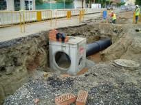 Calldetenes finalitza la primera fase de la nova rotonda de la N-141d