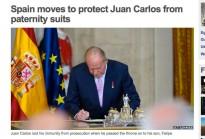 Vés a: WWF té poca voluntat de destituir Joan Carles I de la presidència