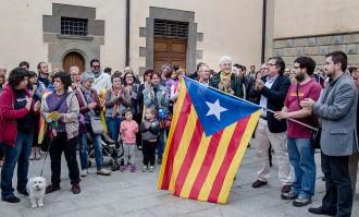 Les mobilitzacions per la república catalana s'estenen a tota la comarca