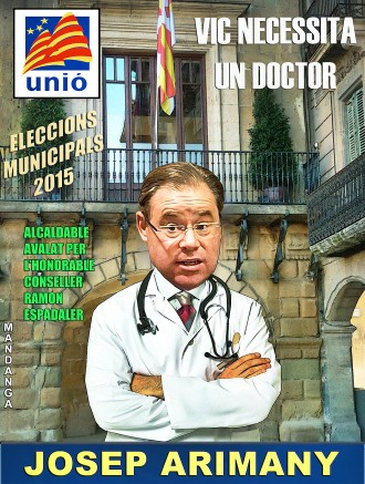 Espadaler apadrina el doctor Josep Arimany