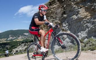 Jordi Casellas guanya la cronoescalada al castell de Tona  en BTT