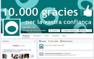 10.000  seguidors a Facebook