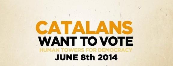 Totes les colles que alçaran castells el  8 de juny pel dret a decidir