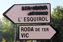 La denominació de Santa Maria de Corcó desapareix dels rètols