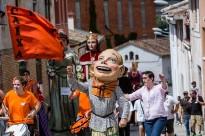 Els gegants recorren els carrers de Balenyà