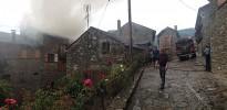 Un llamp causa un incendi en una casa de Queralbs