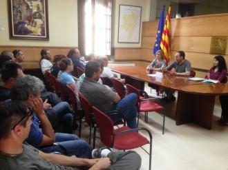 Les 19 persones contractades temporalment pel Consell Comarcal posen fi a sis mesos de treball i formació