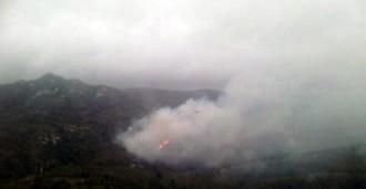 Extingits els incendis de Tivissa i Tivenys