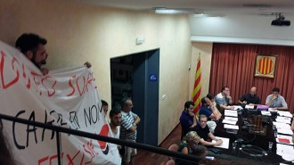 Mobilització a Parets per evitar que dediquin un carrer a Suárez