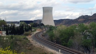 Vessament d'aigua contaminada a la nuclear d'Ascó