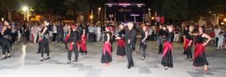 Les Sevillanes sorprenen a la revetlla de Sant Cristòfol