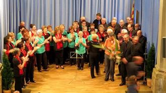 L'Auditori Sant Josep de Moià gaudeix d'un concert de cant coral