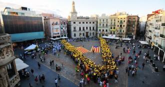 Els Castellers de Berga seran a l'assaig de la V a la Serra d'Ensija