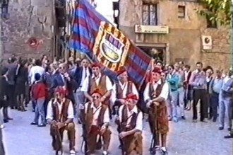 Restauren un video de la inauguració de la Penya Barcelonista l'any 1988