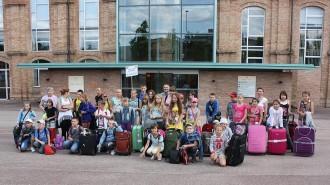 Vés a: Els nens de la central nuclear de Txernòbil, de vacances a Osona