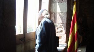 Mossèn Ballarín fa costat a l'expresident Jordi Pujol