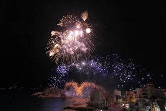 Pirotècnia Angustias Pérez revalida el trofeu de Blanes de focs d'artifici