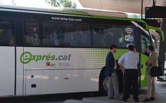 Els busos exprés.cat fan créixer un 31% els viatgers entre Olot i Girona