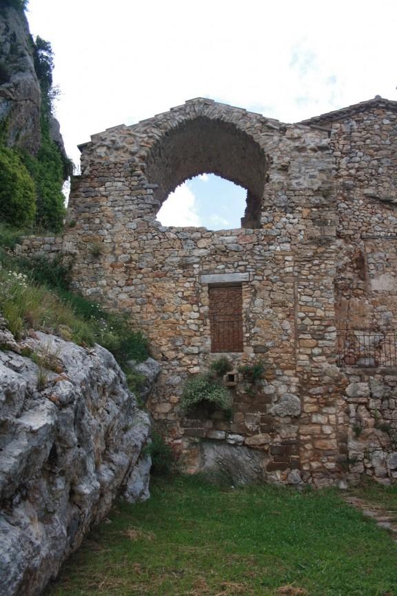 Santa Cecília romànica d'Odèn