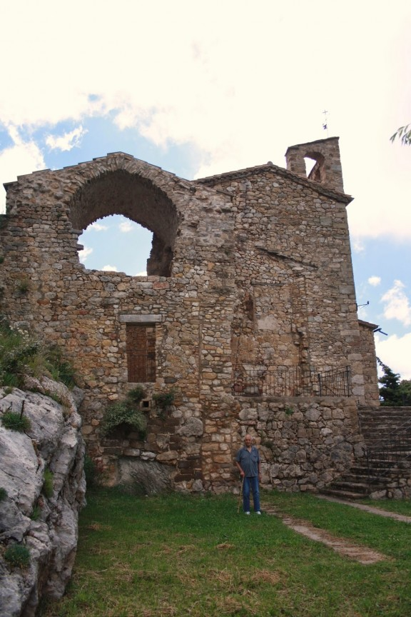 Nova església de Santa Cecília d'Odèn