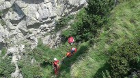 Una excursionista de 60 anys cau per un barranc de 20 metres al camí dels Enginyers de Núria
