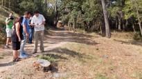 Actuacions per evitar incendis a Can Palet de Vista Alegre de Terrassa