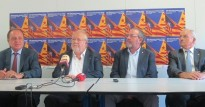 Les quatre diputacions demanen celebrar la consulta el 9-N
