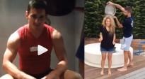 Vés a: Shakira, Piqué i Messi també es mullen per #IceBucketChallenge