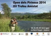 Open dels Pirineus 2014-XV Trofeu amistat de pesca a mosca
