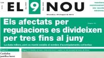 La portada d'El 9 Nou d'aquest divendres