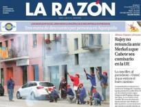 L'afusellament trabucaire del PP de Cardedeu obre la portada de «La Razón»