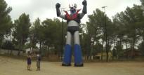 L'estàtua de Mazinger Z del Mas del Plata tornarà a lluir a tot color