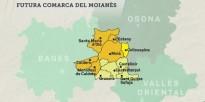 El Moianès decidirà el 22 de març si vol esdevenir comarca