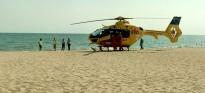 Mor una dona a la platja de Vilafortuny