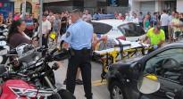 Vés a: Agressió a la paradeta de l'ANC a Granollers a plena llum del dia