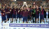 El Barça es proclama Supercampió a Tarragona