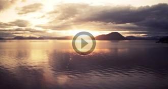 El sol de mitjanit a Alaska