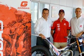 Adam Raga renova per tres temporades més amb Gas Gas