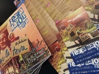 Ja es pot recollir el llibret de Festa Major 2014 de la Seu d'Urgell