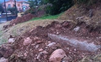 Un veí de Rellinars denuncia unes obres fetes al seu terreny sense permís