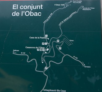D'excursió de la casa Nova de l'Obac al Turó Roig en imatges