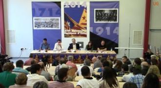 Emissió en directe: Internacionalització del procés sobiranista