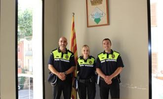 Presa de possessió de dues places d'agent de Policia local d'Arbúcies
