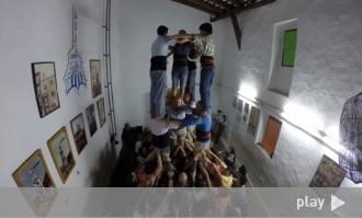 Un assaig dels Nois de la Torre, en un time-lapse de menys de 2 minuts