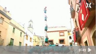 Reviu la millor diada castellera del Catllar a l'època moderna