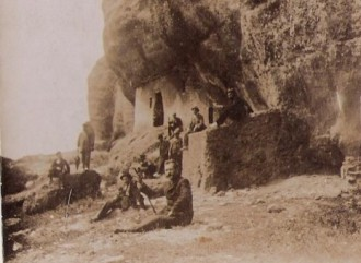Excursionistes als Òbits (c.1910) / Foto: Rafel Comes