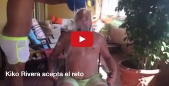 El que faltava per veure: Kiko Rivera i el repte del cubell gelat [VÍDEO]