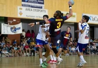 El BM Granollers perd la final de la Supercopa de Catalunya contra el FC Barcelona (37-22)