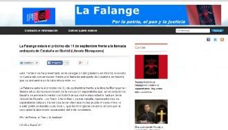 La Falange es manifestarà per la Diada davant de Blanquerna