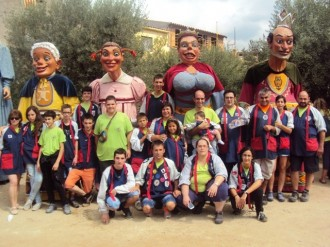 Els gegants del Carnaval de Solsona a la VII Trobada de Gegants a Poboleda